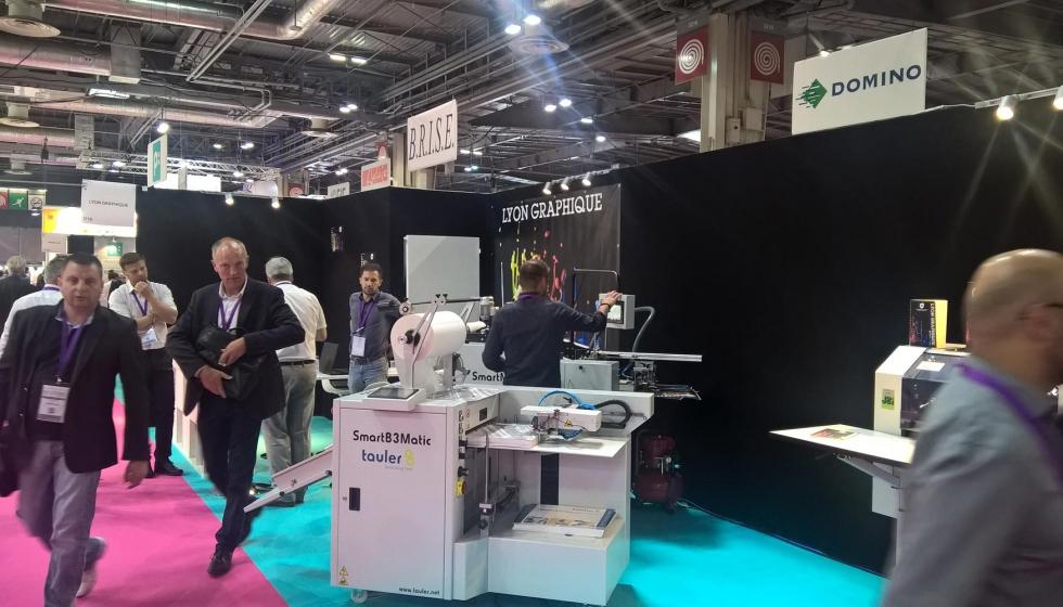 Tauler fortalece su imagen de marca en la feria graphitec industria gr fica - Oficina virtual industria ...