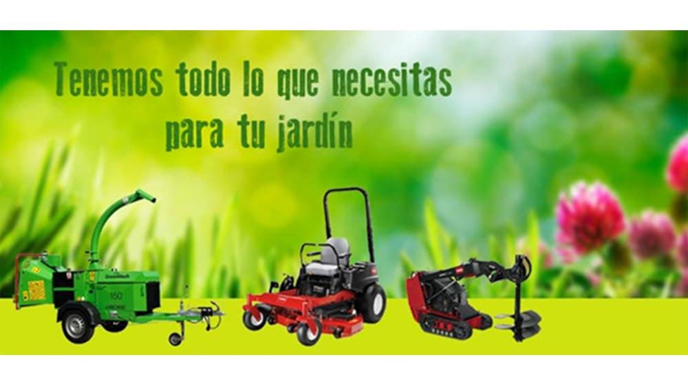 Gomez oviedo junto con riversa realizar n el pr ximo 12 for Maquinaria de jardineria