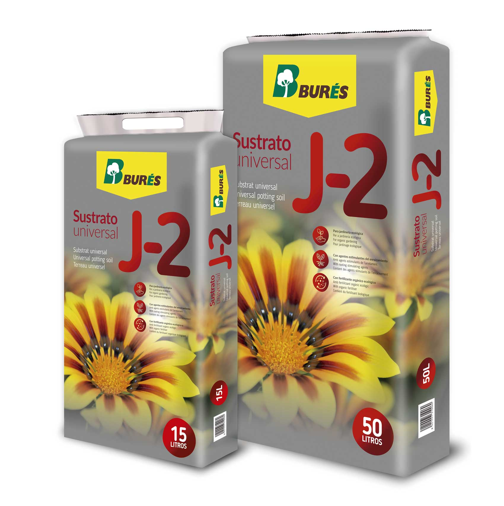 Nuevo sustrato universal j 2 de bur s jardiner a for Productos de jardineria