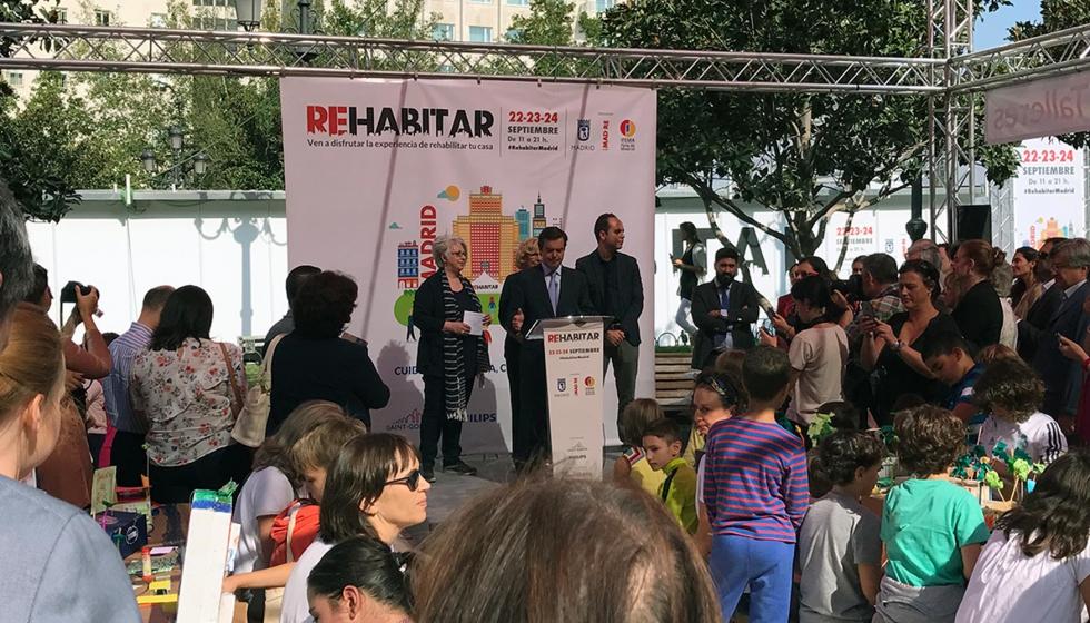 Las soluciones m s novedosas para la reforma del hogar se citan en rehabitar madrid - Reformas hogar madrid ...