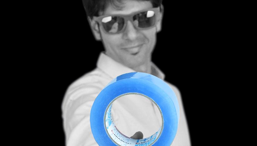 La Gama De Cintas De Embalaje Azul Impresa De Miarco Cumple Un Ano - Gama-de-azul