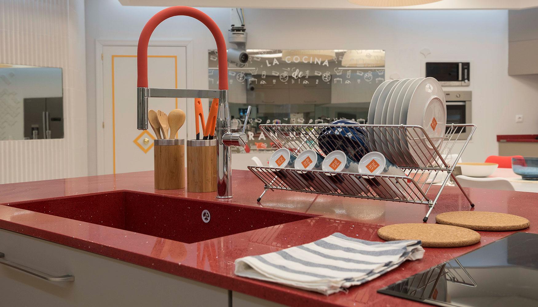 La grifería Essence Professional de Grohe equipa la cocina de Gran ...