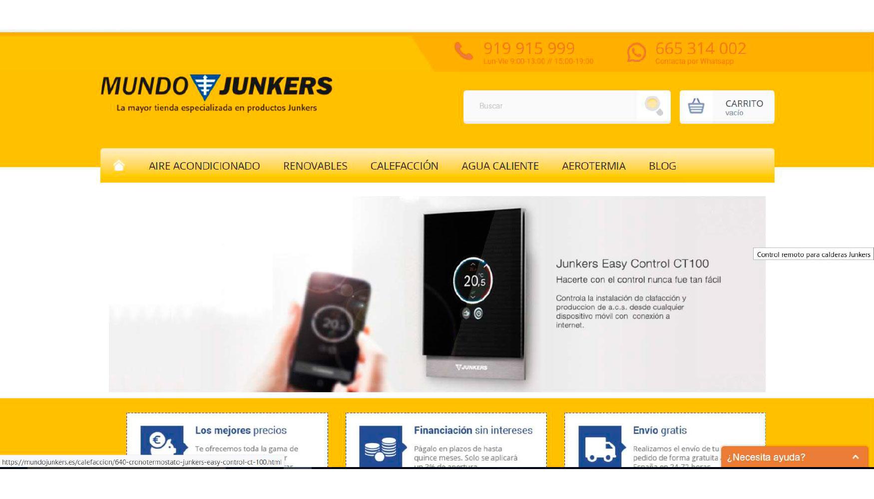Mundo Junkers La Web Especializada En Climatizaci N Del Hogar