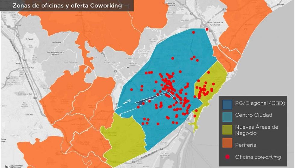 El coworking irrumpe con fuerza en el mercado de oficinas for Oficina ups barcelona