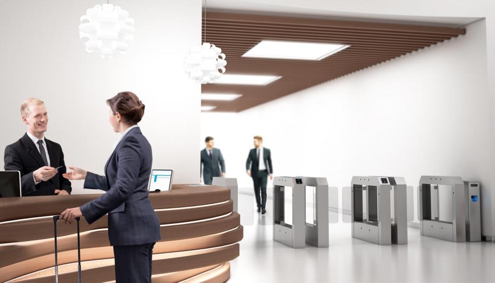 NÜO, el sistema de control de accesos para edificios corporativos ...