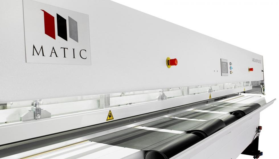 Matic expone en stuttgart sus m quinas para la fabricaci n for Maquinas para toldos enrollables