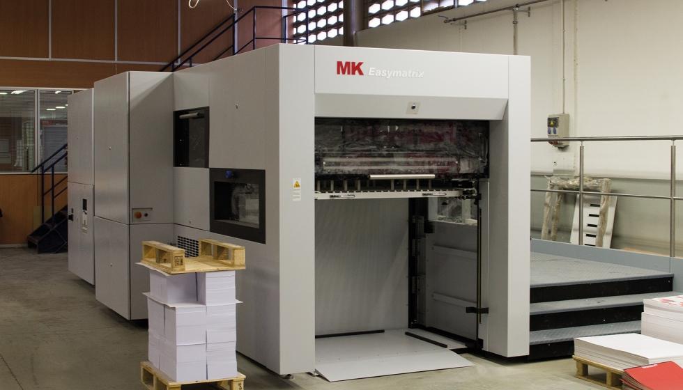 Anfigraf adquiere una nueva troqueladora mk easymatrix 106 industria gr fica - Oficina virtual industria ...
