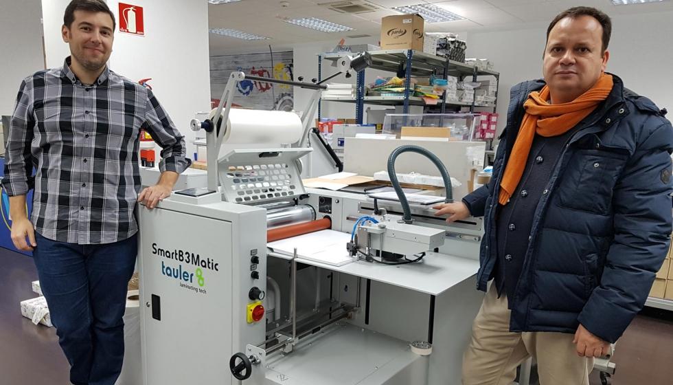 La laminadora smartb3 matic de tauler llega a workcenter ind stria gr fica - Oficina virtual industria ...