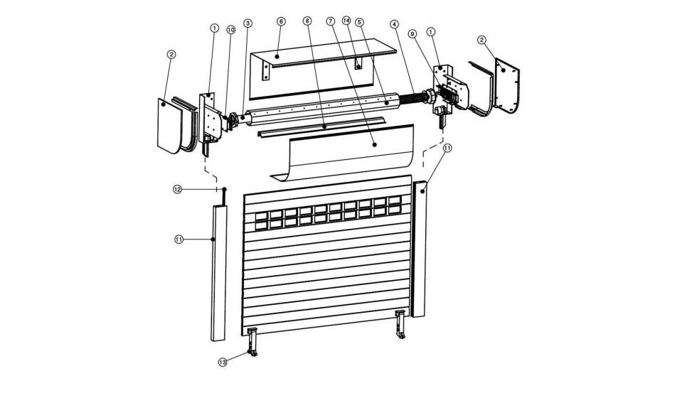 Con Bgm Se Puede Instalar Un Motor Con Sistema De Desbloqueo Exterior Ante Una Falta De Suministro Eléctrico Ventanas Y Cerramientos