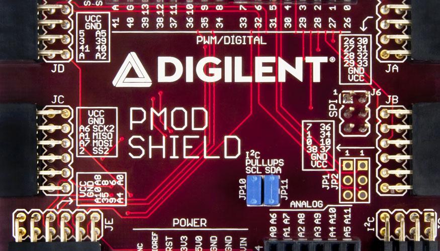 RS Components presenta Pmods y protectores tipo Arduino de
