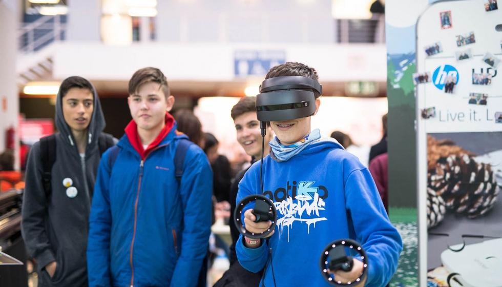 HP acerca la tecnología de impresión 3D y la realidad virtual a más ... c4267c3dfec6e
