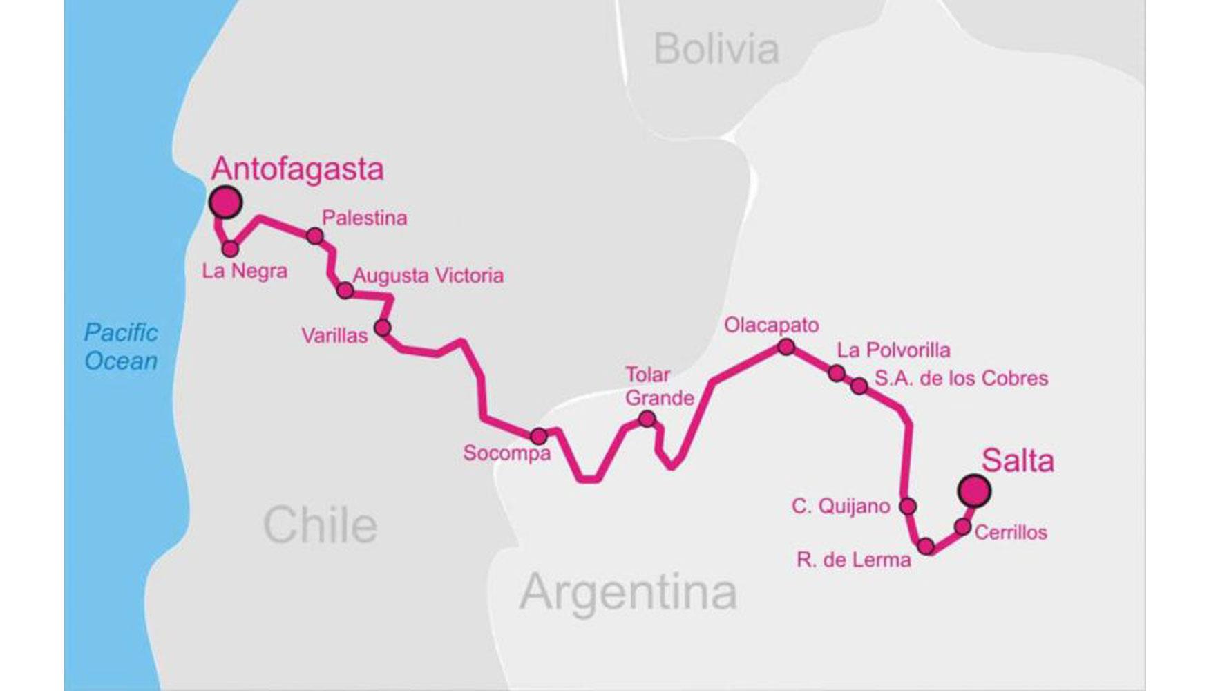 El 'Tren a las Nubes' de Argentina viaja hacia el futuro - Obras públicas