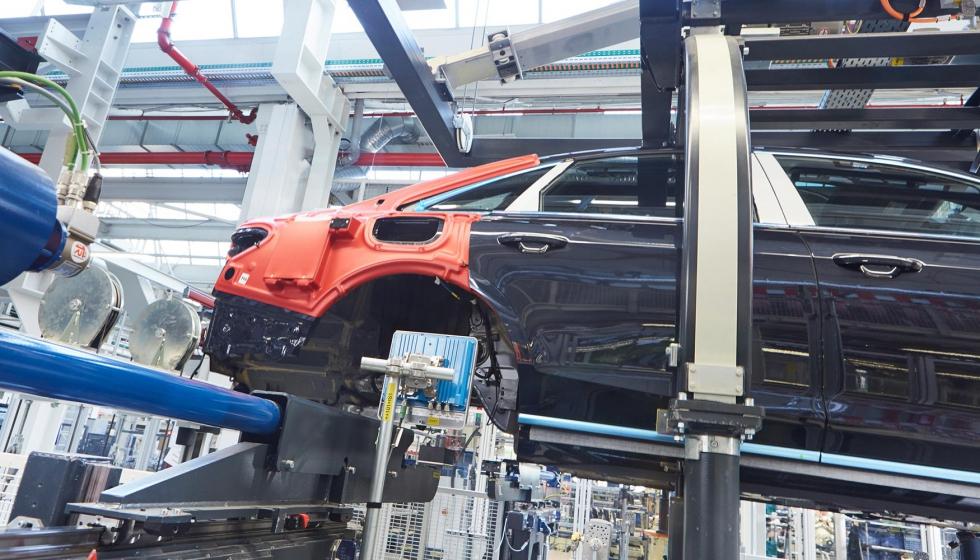 Fabricación eficiente de automóviles con tecnología RFID - Automoción
