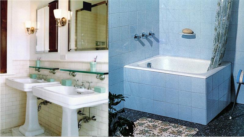 Evolución histórica de los espacios de baño en la vivienda ...