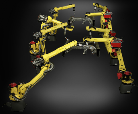 FANUC launches a new arm long, hollow welding robot - Automation
