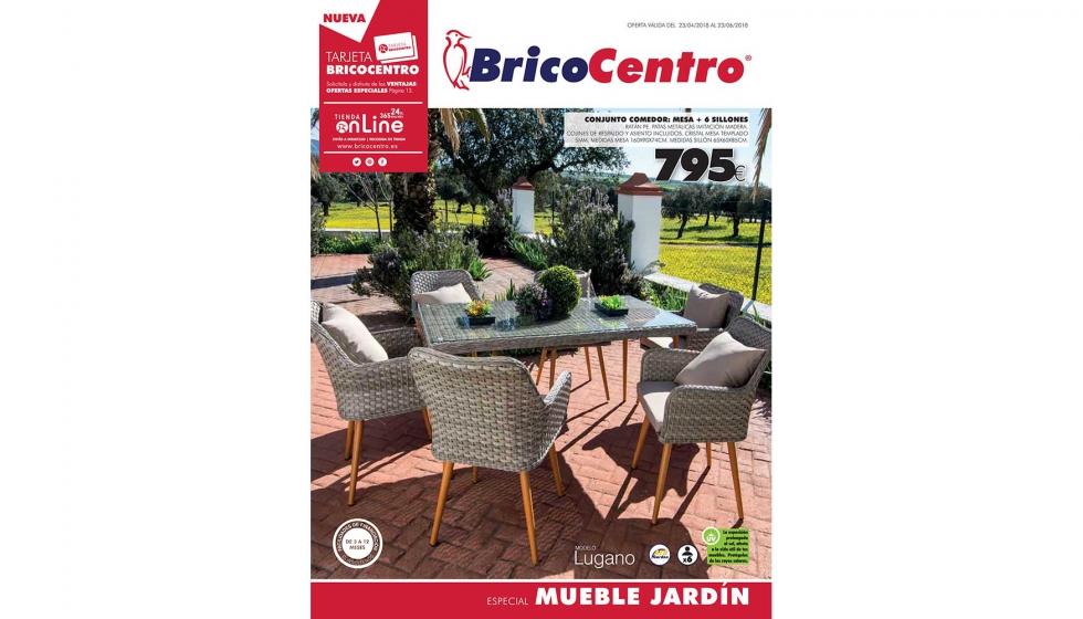 BricoCentro publica su nuevo folleto dedicado al mueble de jardín ...