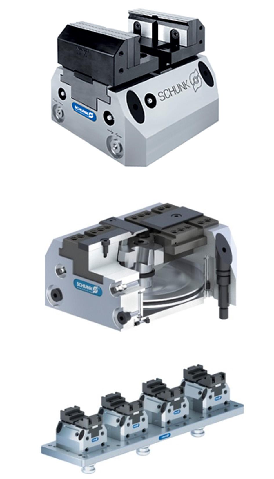 Tecnología de sujeción / Sistemas de fijación estacionarios.