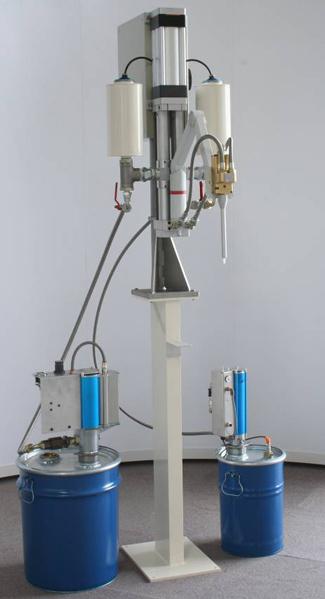 Dosificador-Bicomponente-Bomba-Pistones Cfv