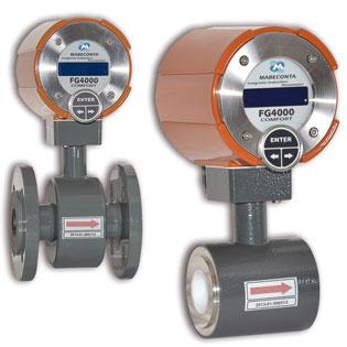 Caudalímetro electromagnético para usos industriales
