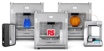 RS Components amplía su oferta de impresoras 3D para facilitar el acceso al creciente mercado de las tecnologías 3D
