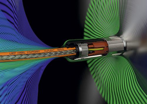 Nuevos cables ÖLFLEX® CONNECT SERVO con compatibilidad electromagnética mejorada