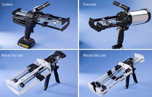Pistolas Inalámbricas de Dispensación en bicomponentes para Materiales Adhesivos. Duraderas, ergonómicas y fáciles de usar