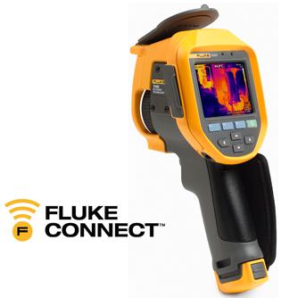 Cámara de infrarrojos Fluke Ti450 con enfoque MultiSharp™. Enfoca de cerca y de lejos en una única imagen
