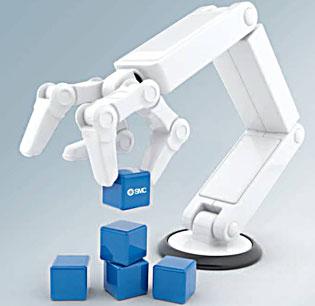 SMC a la vanguardia en componentes para robótica industrial
