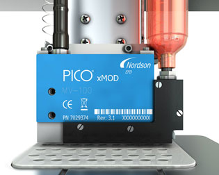 Sistema de Dispensación sin contacto, PICO™ de Nordson EFD Sencillo, preciso y rápido