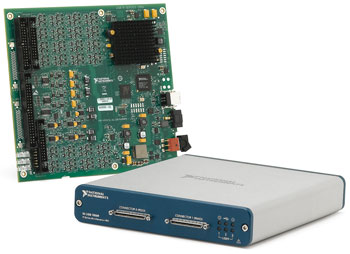 Arquitectura NI LabVIEW RIO con USB Plug and Play incorporado
