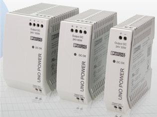 Fuentes de alimentación UNO POWER con funciones básicas en Automation24, una nueva linea de productos de Phoenix Contact