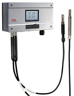 Transmisor industrial de humedad y temperatura
