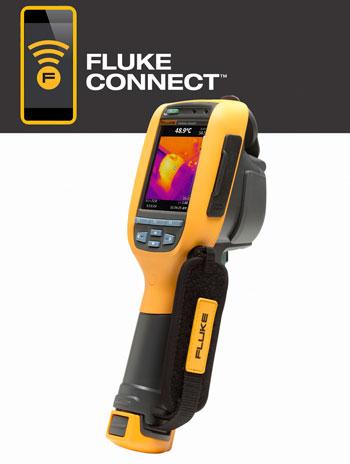 Nuevas cámaras termográficas Fluke Ti90 y Ti95.