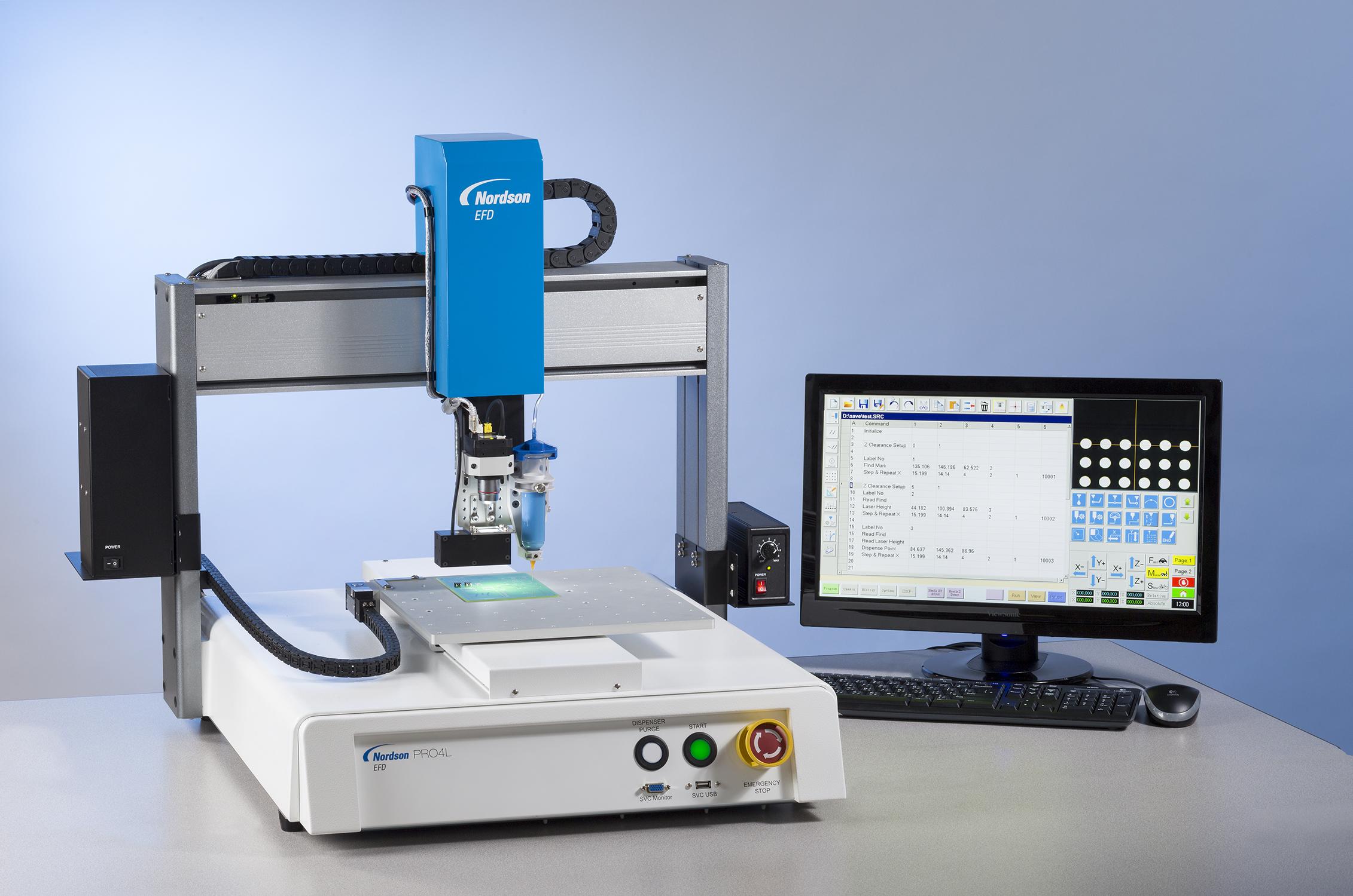 Sistemas de Dosificación de Fluidos Automáticos de Nordson EFD