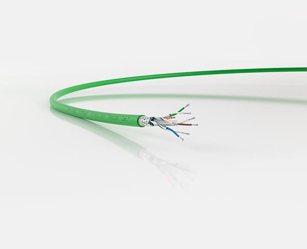 El primer cable Ethernet Cat.7 resistente a la torsión