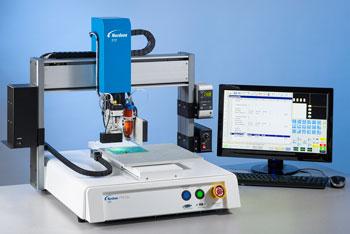 Sistemas de Dosificación de Fluidos Automáticos de Nordson EFD. Combinan Dosificación Precisa con Programación Rápida y Fácil