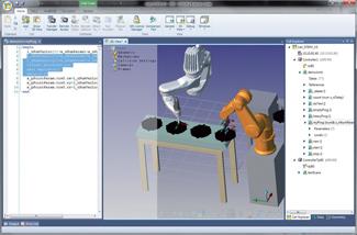 Paquete de Software PC para el desarrollo y mantenimiento de aplicaciones robóticas