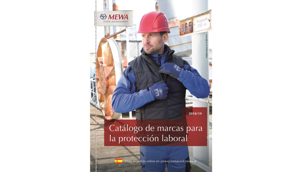 7877a36ea02 Desde el 1 de septiembre está disponible el nuevo catálogo de marcas de  Mewa para la protección laboral 2018/2019.