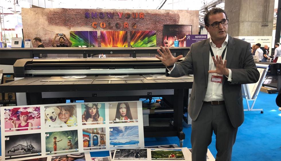 La apuesta de HP por el gran formato en C!Print Madrid 2018 -