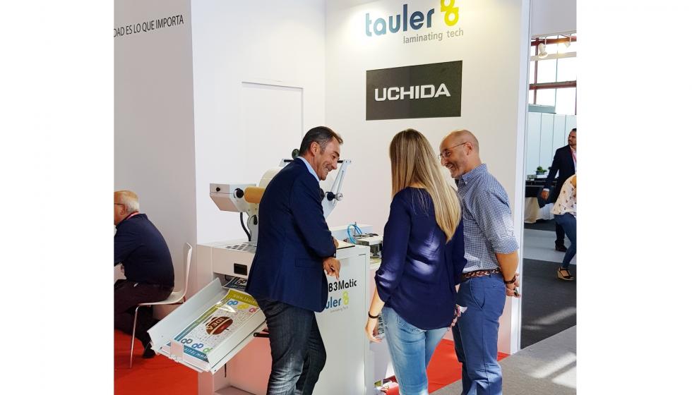 Tauler satisfecha tras su paso por c print 2018 industria gr fica - Oficina virtual industria ...