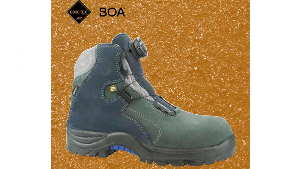 4cecc9257b1 Línea de calzado Boa, que además de Gore-Tex incluye innovaciones como el  sistema de cierre Boa.