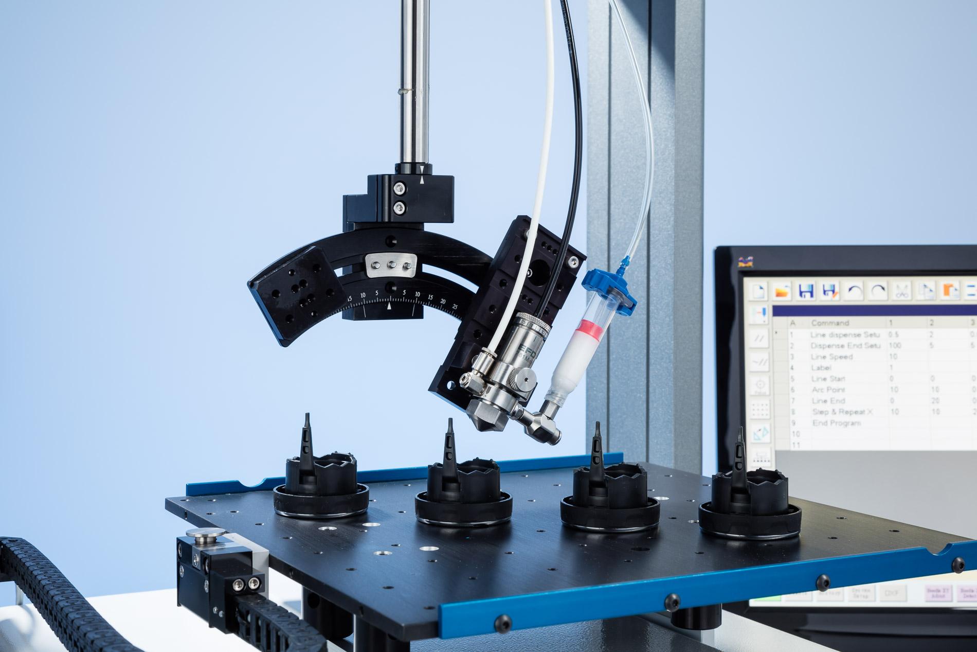 Serie RV de 4 ejes del sistema de dosificación automatizado con visión inteligente
