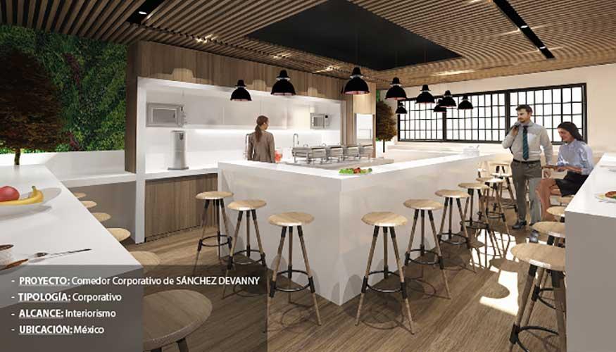 Manuel Torres Design diseña el nuevo comedor corporativo de la firma ...