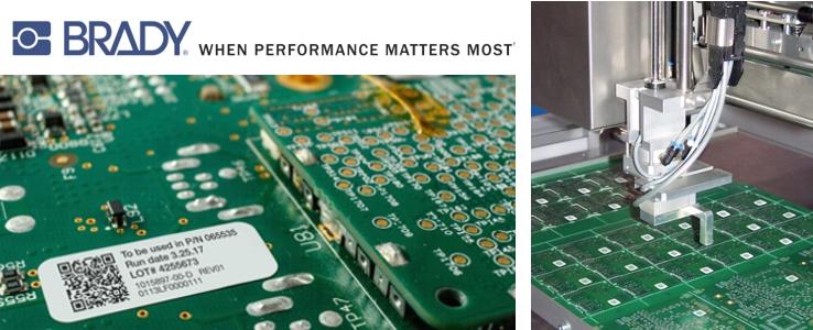 Etiquetado totalmente automatizado para placas de circuitos impresas