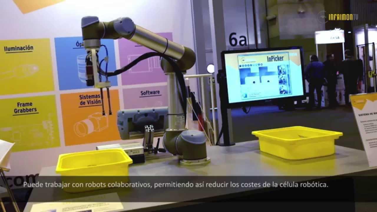 Solución de sistema de visión 3D: Aplicación de manipulación automática de poleas