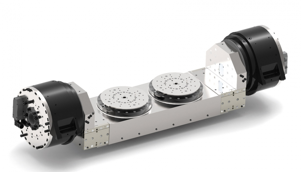 Nueva gama de mesas giratorias Sauter Feinmechanik