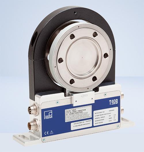 Sensor polivalente para bancos de pruebas: pares nominales de 50 Nm a 10 kNm