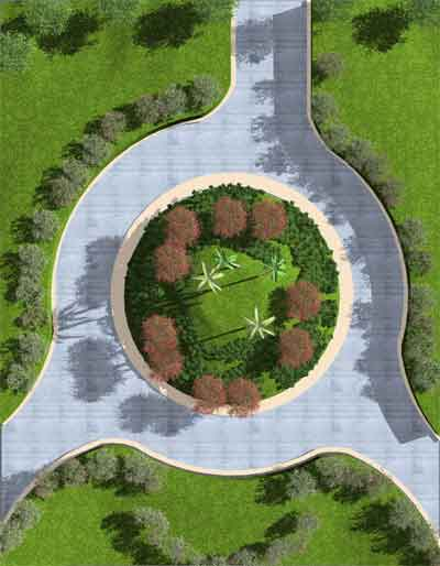 Asuni cad colabora con ifapa mediante su software autoarq for Decoracion de jardines y parques