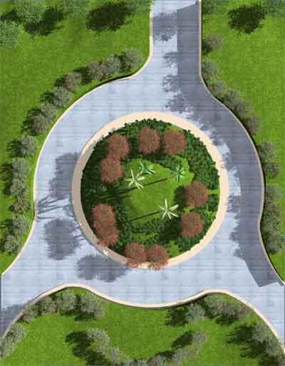 Asuni cad colabora con ifapa mediante su software autoarq for Jardineria y paisajismo fotos