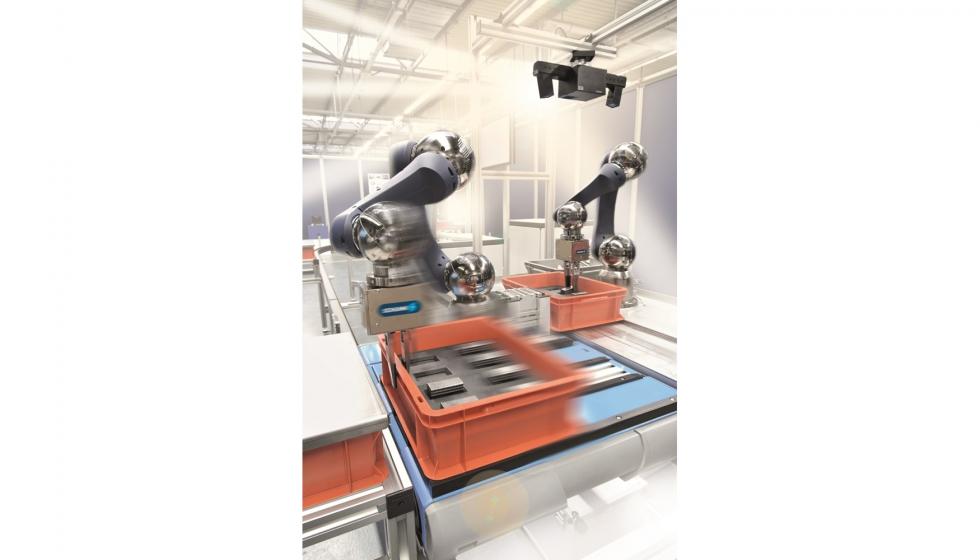 Soluciones industriales mediante movimientos flexibles en la logística interna